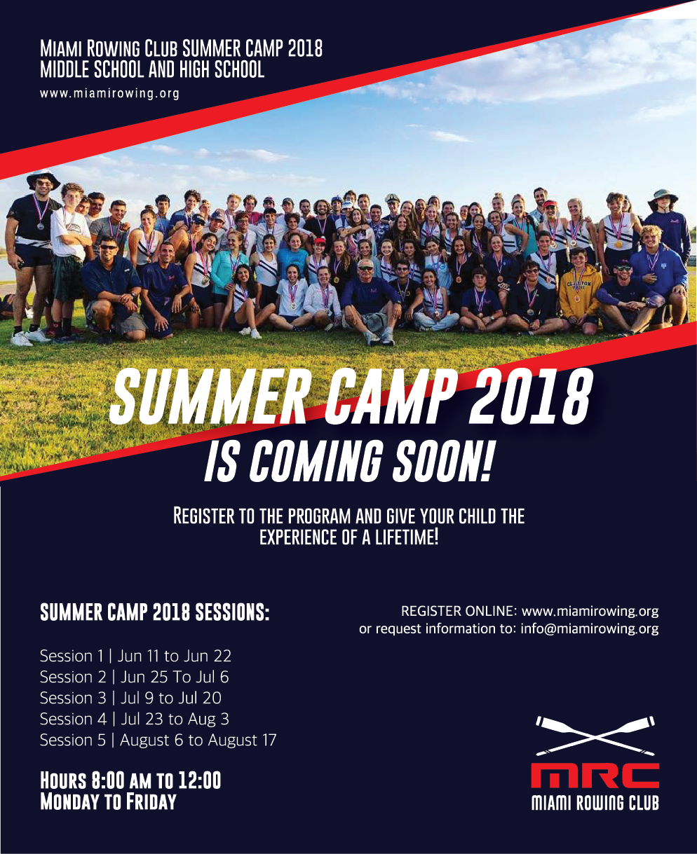 Summer Camps 2017 The Miami Rowing Club